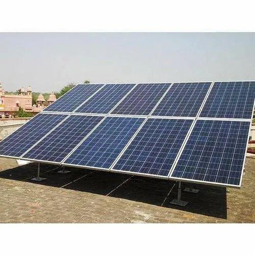 5KW On Grid Solar Power Plant