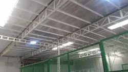 Warehouse Steel Roofing Construction Service