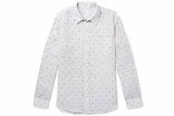 Linen Mens Printed  Shirts