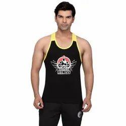 Cotton/Linen Omtex Black Yellow Gym Stringers, Size: 80-85 (cm)