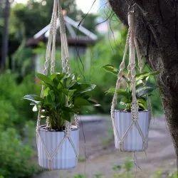 Macrame Plant Hanger For Pot