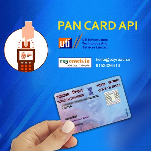 Online PAN Card Application & API Provider