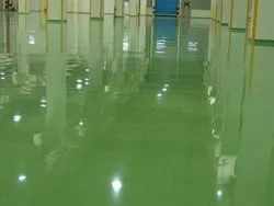 Green Epoxy Floor Paint, Packaging Size: 5 L