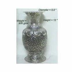 German Silver Vase