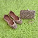 Bridal Clutch With Matching Jutti