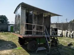 Stainless Steel Prefabricated Mobile Toilet