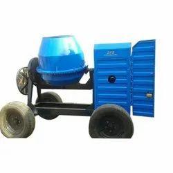 Tilting Drum Mixer Diesel Engine Cement Concrete Mixer, Drum Capacity: 500 L, for Used To Mix Concrete