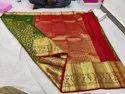 Wedding Wear Kanchipuram Silk Saree, Dry Clean, 6 M (with Blouse Piece)