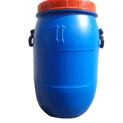 Blue Chemicals 40 Liter Plastic Open Top Drum