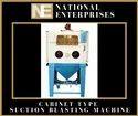 National Enterprises Cabinet Type Suction Blaster
