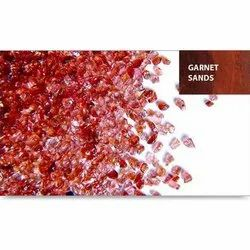 Brown Garnet Sand, For Construction, Packaging Type: Jumbo Bag