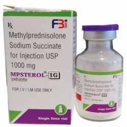 Methylprednisolone Sodium Succinate For Injection Usp 1000 Mg