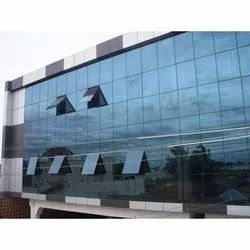 Tintedway Industrial Glazing Work, Glass Thickness: 5 Mm