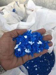 HDPE Blue Milky Regrind