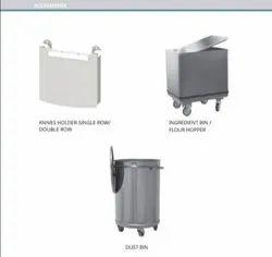 Artikel Inox Loader Stainless Steel Flour Hopper, For Kitchen, Hotels