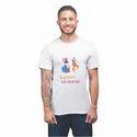 Polyester White Lazychunks Navratri Garba T-shirt