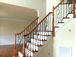 Cast Iron Stair Railing
