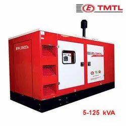 Three Phase TMTL 100 kVA Water Cooled Diesel Genset, 415 Vac