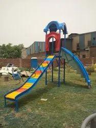 SNS113 FRP Hut Playground Slides