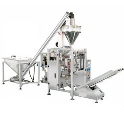 Electric Auger Filler Collar Type Pouch Packaging Machine