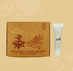 Apricot Neem Tulsi Revitalising Cleanup And Facial Service