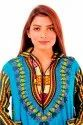Dashiki African Mexican Poncho/T-Shirt Top