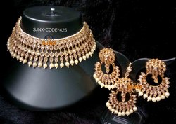 SJNX-N118 Wedding Artificial Necklace Set