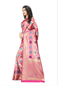 Chidiya Jacquard Silk Saree