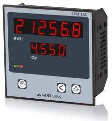 Multispan Three Phase Energy Meter, Model Name/Number: Epm-13n - Em-13n, 230 Vac