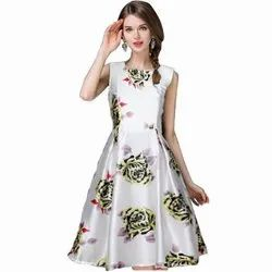 Girl Stiched One Piace Western Dress, 14 To 30