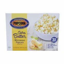 Extra Butter Microwave Popcorn
