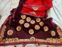 Jaipuri Gota Patti Saree