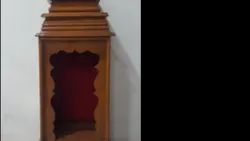 Wooden Pooja Shelf