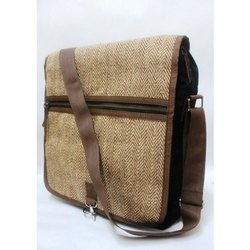 Brown Laptop Jute Bags