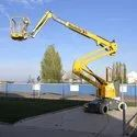 Battery Operated Articulated Boom Lift