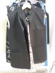 Men Black Blazer With Shirt