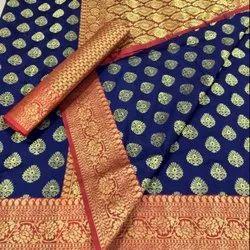 Latest Soft Banarasi Silk Saree