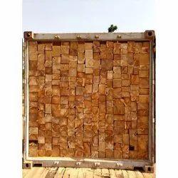 5-10 Feet Ghana Teak Wood Lumber, Thickness: 2.5 - 3.5 Inch
