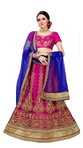 2be2344422 Sartin Semi-Stitched Net Lehenga Choli, Rs 799 /piece, Sahjanand ...