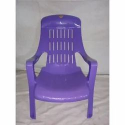 Purple Modern Plastic Baby Chair, for Home, School