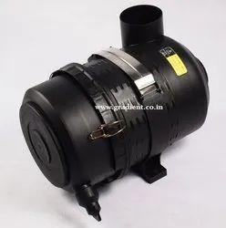 Black Air Filter Housing- Air Compressor
