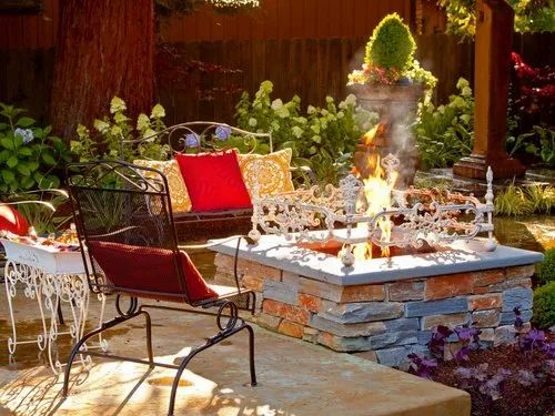 Fire Pit Glass Rocks For Outdoor And, Outdoor Fire Place