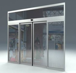 Automatic Sensor Glass Door Manufacturers In Ncr