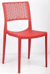 Federtek Red&yellow Designer Chair, For Home, Hotel Etc, Back Style: Low Back