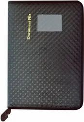 Black Plastic Document File Cover, Packaging Type: Box