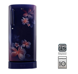 LG Single Door Refrigerator GL-D241ABPY, 235 L