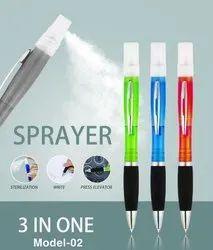 Pen Spray Sanitizer, 3 In 1 Pen, Refillable