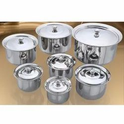 Adak Stainless Steel Handi Set