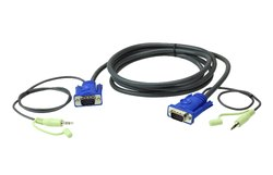 Aten VGA 2 Mtr  Audio Patch Cord