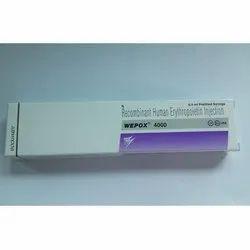 Wepox 4000 IU Injection